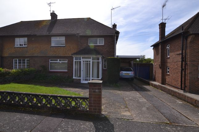 Thumbnail Semi-detached house to rent in Meadowlands, Oxted