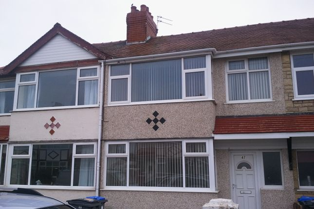 Thumbnail Terraced house to rent in Brentwood Avenue, Thornton Cleveleys