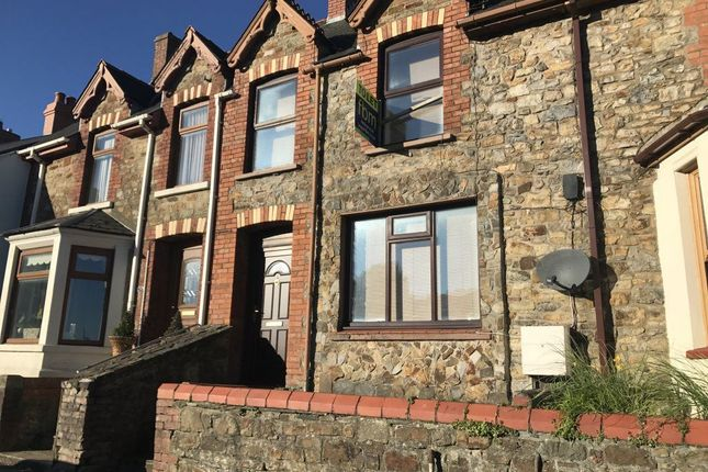 Thumbnail Terraced house to rent in Milford Road, Haverfordwest, Pembrokeshire