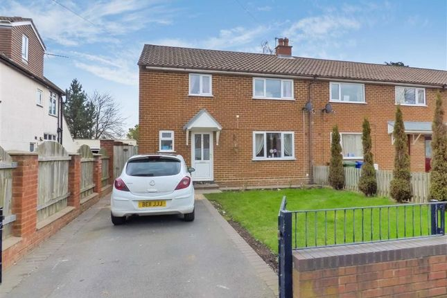 Thumbnail Semi-detached house to rent in Brownhills Road, Cannock, Staffordshire