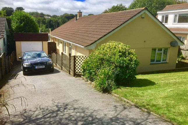Thumbnail Detached bungalow for sale in Sparnon Close, Redruth