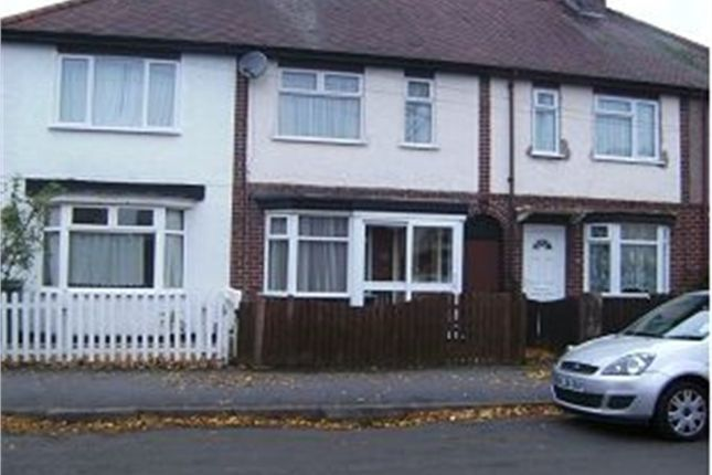 Thumbnail Terraced House For Sale In Bentley Road Nuneaton