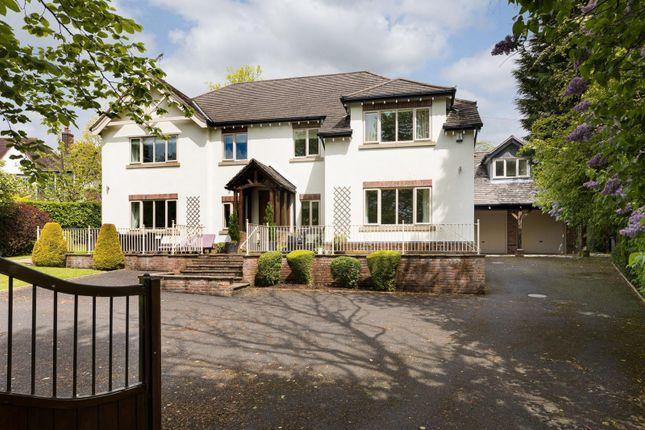 Thumbnail Detached house for sale in Bridge End Lane, Prestbury, Macclesfield