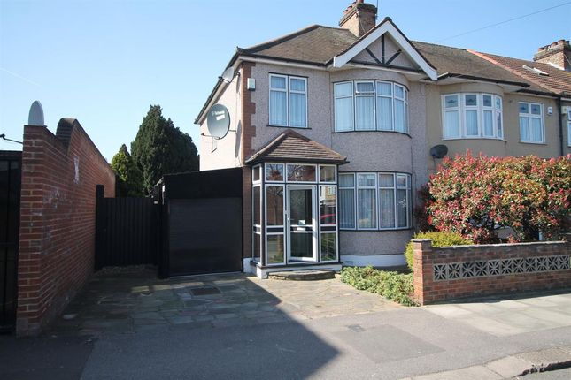 Thumbnail Semi-detached house for sale in Reynolds Avenue, Chadwell Heath, Romford