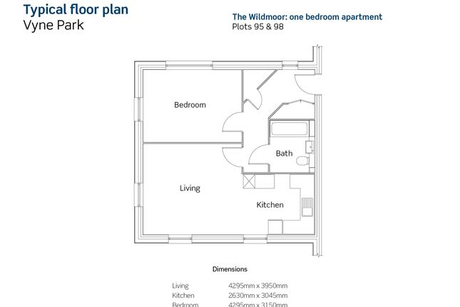 Floor Plan of Gallery Road, Basingstoke RG24