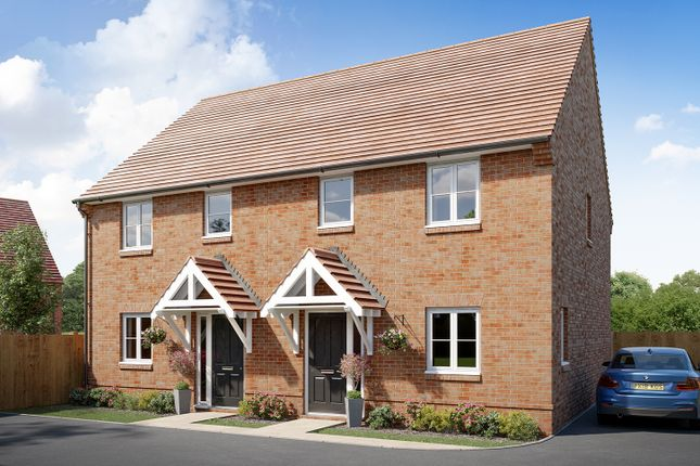 """Thumbnail Semi-detached house for sale in """"The Walton"""" at Boorley Green, Winchester Road, Botley, Southampton, Botley"""