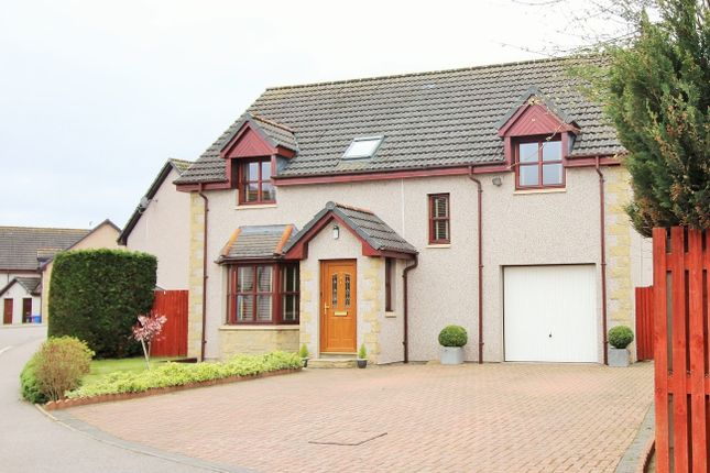 Detached house for sale in Knockomie Rise, Forres