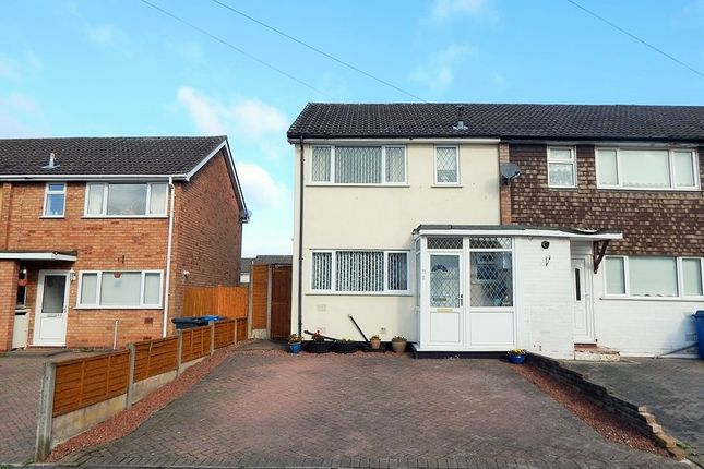 Thumbnail Semi-detached house to rent in Newgate Street, Burntwood