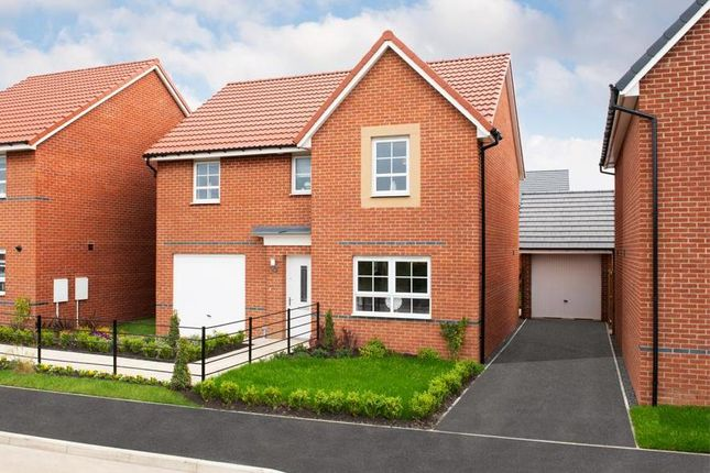 "Thumbnail Detached house for sale in ""Ripon"" at Ponds Court Business, Genesis Way, Consett"