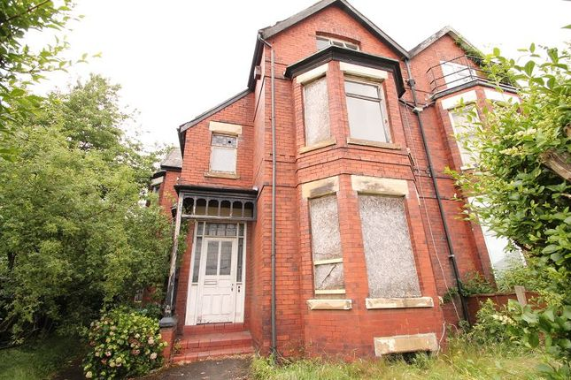 Thumbnail Semi-detached house for sale in Salisbury Road, Chorlton, Manchester