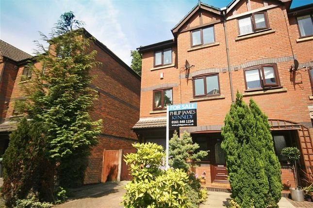 Thumbnail Town house to rent in Evans Close, Didsbury, Manchester, Greater Manchester