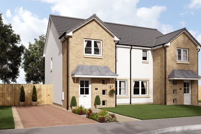 Thumbnail Semi-detached house for sale in Plots 6, 7, 8, The King's Meadow, Stirling