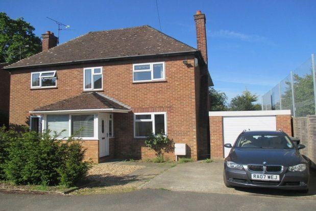 Thumbnail Detached house to rent in Little Green Lane, Wrecclesham, Farnham