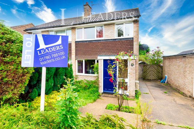 Thumbnail Semi-detached house to rent in Lynden Avenue, Gonerby Hill Foot