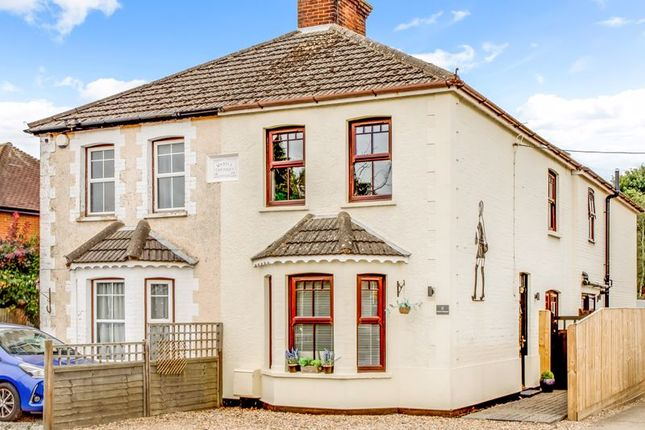 Thumbnail Semi-detached house for sale in Missenden Road, Great Kingshill, High Wycombe