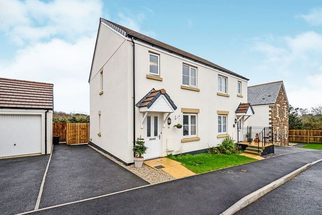 Thumbnail Semi-detached house for sale in Wheal Albert Road, Goonhavern, Truro