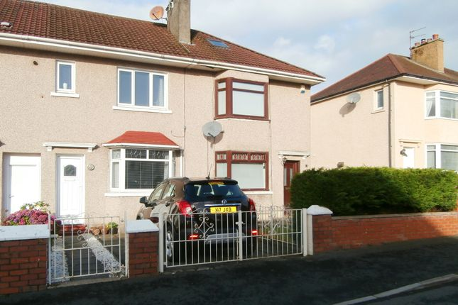 Thumbnail Terraced house for sale in Hathersage Drive, Garrowhill, Glasgow