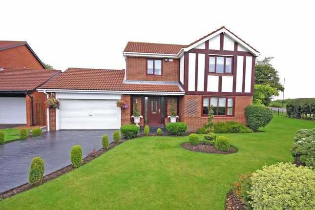 Thumbnail Detached house for sale in Orchard Close, Killingworth, Newcastle Upon Tyne