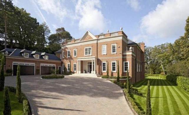 Thumbnail Detached house for sale in Yaffle Road, St George's Hill, Weybridge, Surrey