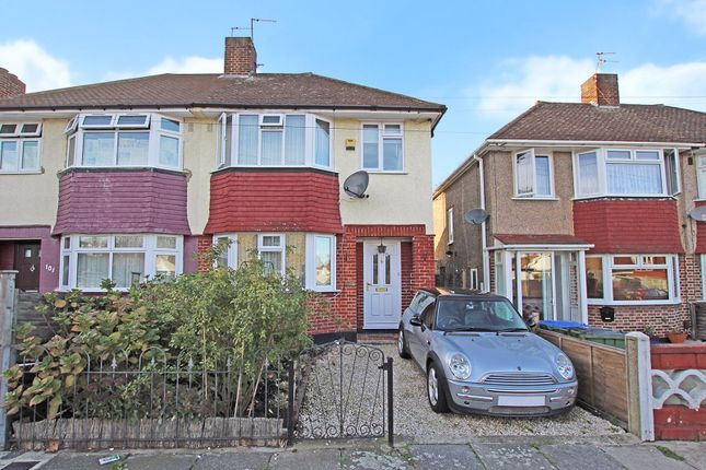 Thumbnail Semi-detached house for sale in Church Manorway, Abbey Wood