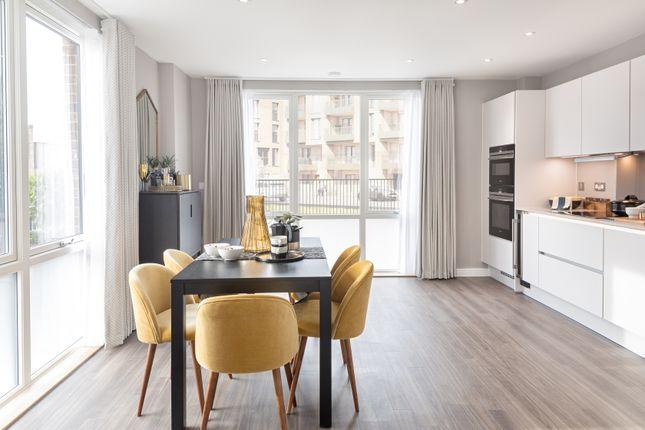Thumbnail Flat for sale in Plot 114, Central Square Apartments, Acton Gardens, Bollo Lane, Acton, London