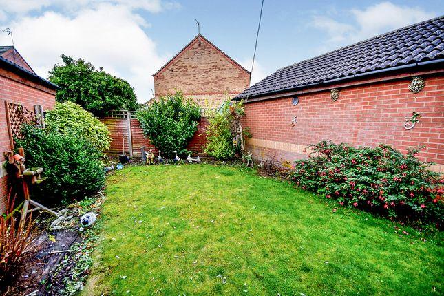 Garden of Aldergrove Crescent, Lincoln, Lincolnshire LN6