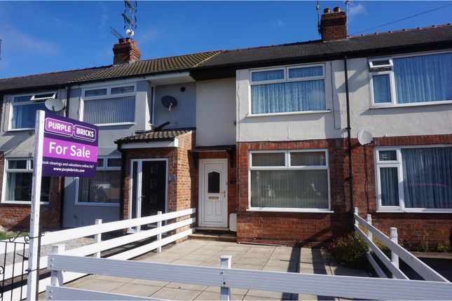 2 bed terraced house for sale in Westlands Road, Hull