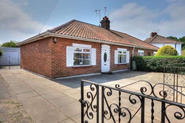 Thumbnail Semi-detached bungalow for sale in Samson Road, Norwich