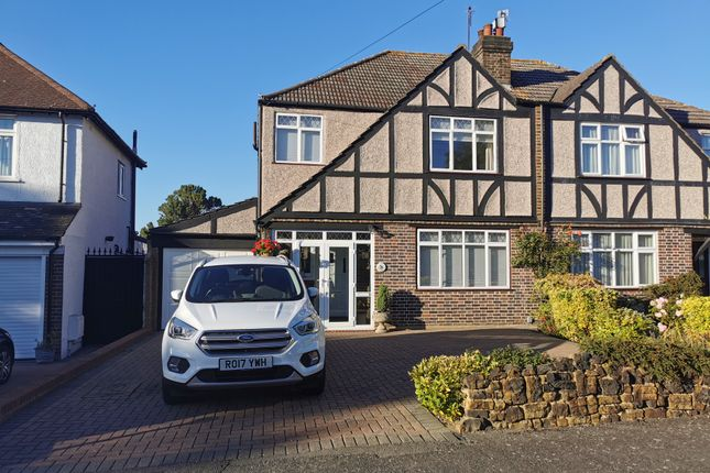 Thumbnail Semi-detached house for sale in Palmer Avenue, Cheam