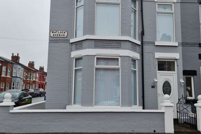 Thumbnail Terraced house to rent in Matlock Avenue, Walton, Liverpool