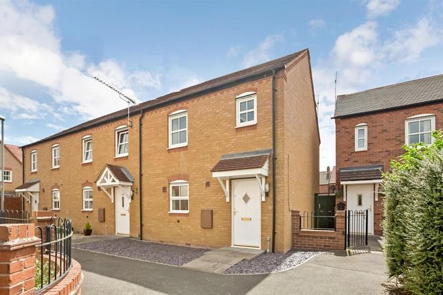Thumbnail End terrace house for sale in The Fordway, Lower Quinton, Stratford-Upon-Avon