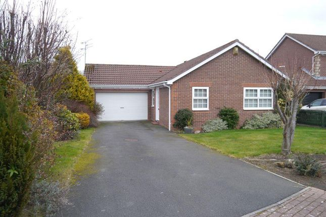 Thumbnail Detached bungalow for sale in Church Flatt, Ponteland, Newcastle Upon Tyne