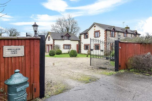 Thumbnail Detached house for sale in Dauntsey Lock, Chippenham