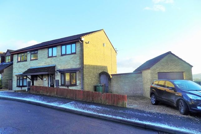 Thumbnail Semi-detached house to rent in Heol Cwm Ifor, Caerphilly
