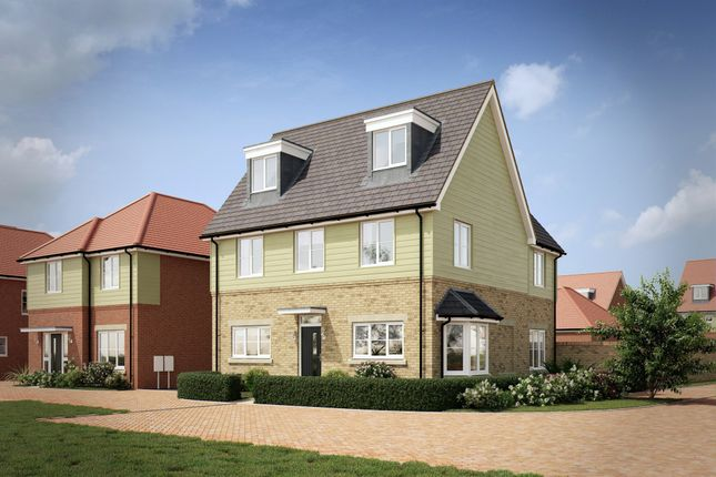 Thumbnail Detached house for sale in Pembroke Lane, Whitehouse, Milton Keynes