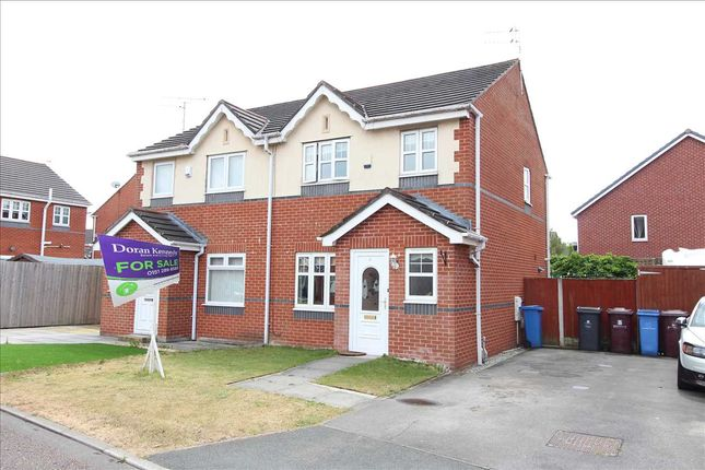 Thumbnail Semi-detached house for sale in Gorleston Way, Kirkby, Liverpool