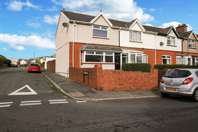 Thumbnail End terrace house for sale in Fitzroy Avenue, Ebbw Vale, Gwent