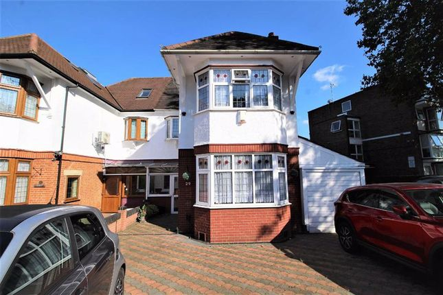 Thumbnail Semi-detached house to rent in Hollybush Hill, Snaresbrook, London