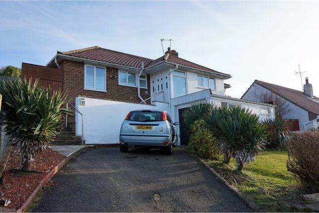 Thumbnail Detached bungalow for sale in Ashurst Avenue, Saltdean