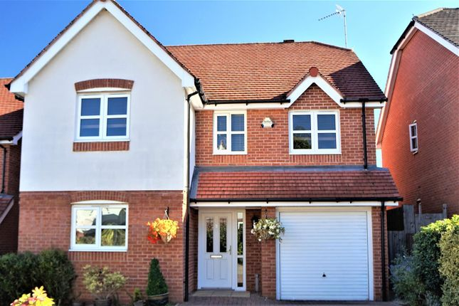 Thumbnail Detached house for sale in The Pastures, Anstey, Leicester