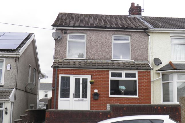 Thumbnail Semi-detached house for sale in Ash Street, Gilfach Goch, Porth
