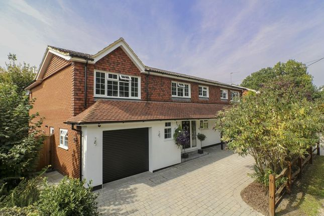 Thumbnail Detached house for sale in Little Heath Road, Chobham, Woking