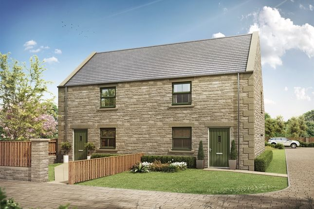 "Thumbnail Semi-detached house for sale in ""Plot 1/2"" at Newfield Terrace, Newfield, Chester Le Street"