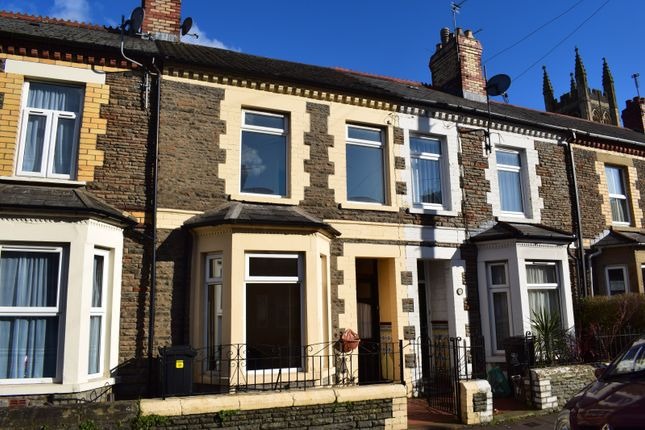 Thumbnail Terraced house to rent in Angus Street, Roath, Cardiff