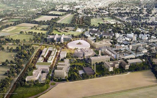 Thumbnail Land to let in Hills Road Phase 2, Cambridge