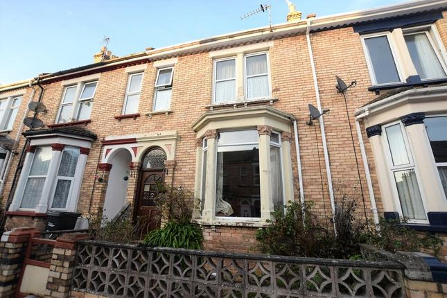 4 bed terraced house for sale in Gerston Road, Paignton, Devon