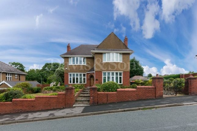 Thumbnail Detached house for sale in St. Julians Road, Newport, Gwent.