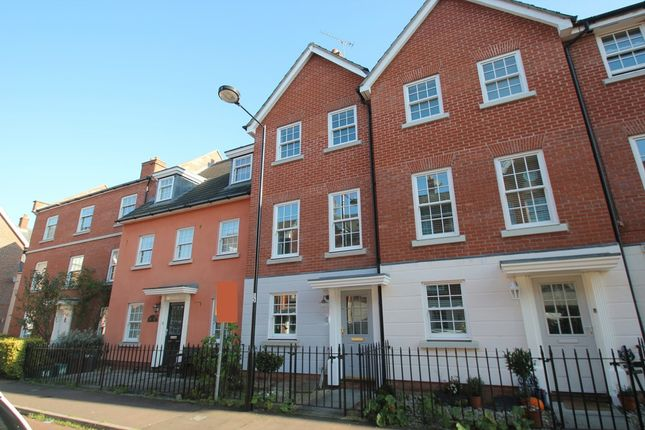 Thumbnail Terraced house to rent in Admirals Walk, Wivenhoe, Colchester