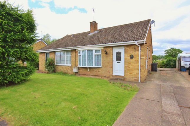 Thumbnail Bungalow to rent in Dane Avenue, Thorpe Willoughby, Selby