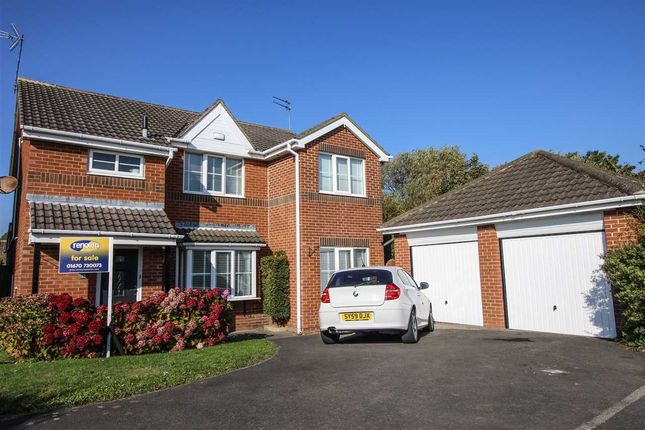 Thumbnail Detached house for sale in Horton Drive, Northburn Wood, Cramlington